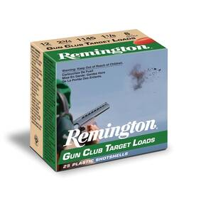 "Remington Gun Club Target Load 20 ga 2 3/4"" 2 1/2 dr 7/8 oz #7.5 1200 fps - 25/box"