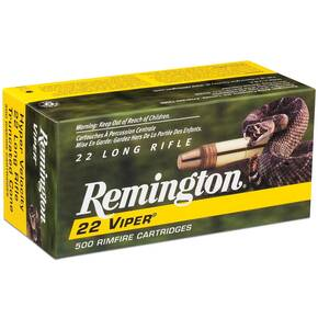 Remington .22 Viper Rimfire Ammunition .22 LR 36 gr TCSB 50/box