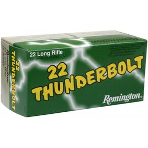 Remington .22 Thunderbolt Rimfire Ammunition .22 LR 40 gr LRN 50/box