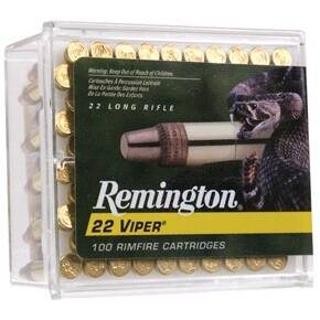 Remington .22 Viper Rimfire Ammunition .22 LR 36 gr TCSB 100/box