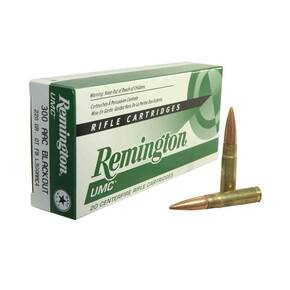 Remington UMC Rifle Ammunition .300 AAC Blackout 220 gr OTM 1050 fps 20/Box