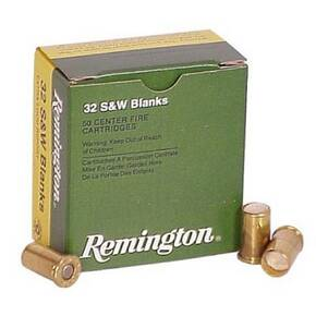 Remington Blank Cartridges .32 S&W 50/box