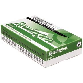 Remington UMC Rifle Ammunition .223 Rem 55 gr FMJ 3240 fps - 20/box