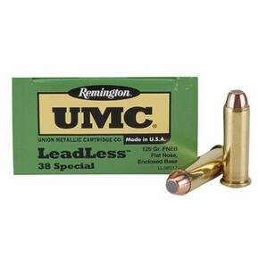Remington UMC Handgun Ammunition .38 Spl 125 gr FNEB  50/box