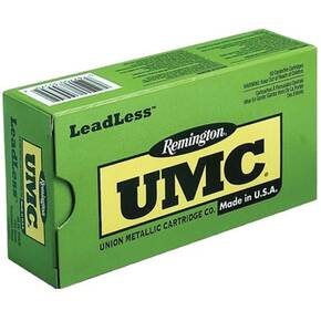 Remington UMC Handgun Ammunition 9mm Luger 124 gr FNEB  50/box