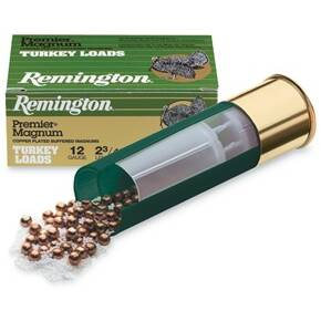 "Remington Premier Magnum Copper-Plated Buffered Turkey 10 ga 3 1/2"" 4 1/2 dr 2 1/4 oz #4 1210 fps - 10/box"