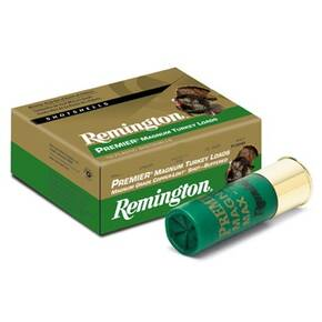 "Remington Premier Magnum Copper-Plated Buffered Turkey 12 ga 3 1/2"" MAX 2 1/4 oz #4 1150 fps - 10/box"
