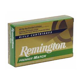 Remington Premier Match Rifle Ammunition .223 Rem 69 gr BTHP 3000 fps - 20/box