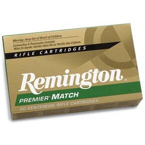 Remington Premier Match Rifle Ammunition .223 Rem 77 gr BTHP 2788 fps - 20/box