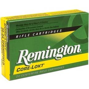 Remington Core-Lokt Rifle Ammunition 7mm SAUM 150 gr PSP 3110 fps - 20/box