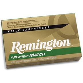 Remington Rifle Ammunition .338 Lapua Mag 250 gr BTHP  - 20/box