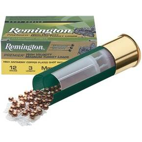 "Remington Premier High-Velocity Magnum Copper-Plated Buffered Turkey 12 ga 3"" MAX 1 3/4 oz #5 1300 fps - 10/box"