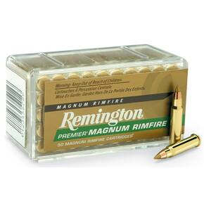 Remington Premier Rimfire Ammunition .17 HMR 17 gr ATV 50/box