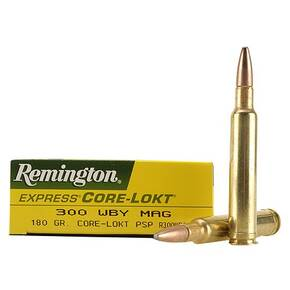 Remington Core-Lokt Rifle Ammunition .300 Wby  SSB 3120 fps - 20/box