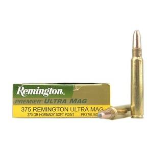 Remington Rifle Ammunition .375 RUM 270 gr SP 2900 fps - 20/box
