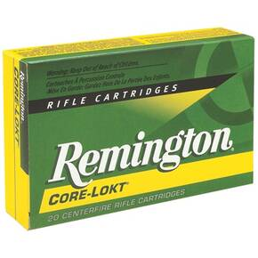 Remington Core-Lokt Rifle Ammunition .30 Rem AR 150 gr PSP 2575 fps - 20/box