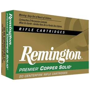 Remington Premier Copper-Solid Rifle Ammunition .300 Win Mag 150 gr TBT 2768 fps - 20/box