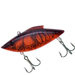 Rat-L-Trap Mini-Trap (MT) Lipless Hard Crankbait Lure 1/4 oz - Red Crawfish