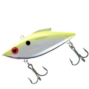 Rat-L-Trap Original (RT) Lipless Hard Crankbait Lure 1/2 oz - Chartreuse Flash