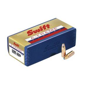 "Swift A-Frame Rifle Bullets 8mm .323"" 220 gr AFSS 50/ct"