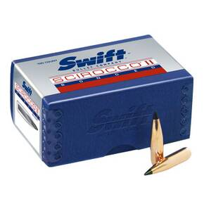 "Swift Scirocco II Bullets .338 cal .338"" 210 gr BTS 100/ct"