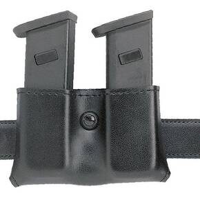 Safariland Beretta 92F, S&W 59 Concealment Double Magazine Holder, Snap-On