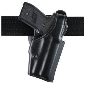 "Safariland S&W 410 ""Top Gun"" Level I Retention Holster, Mid-Ride, Right Hand, Plain Black"