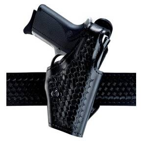 "Safariland CX ""Hi-Ride"" Level I Retention Holster, Right Hand, Basket Black"