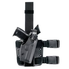 Safariland Sig Sauer P220 Self Locking System (SLS) Tactical Holster, Left Hand, Tactical Black