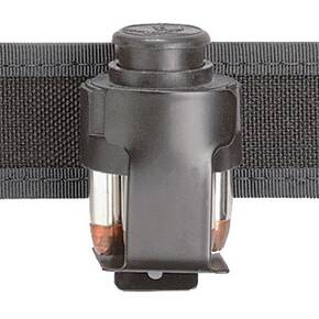 Safariland Model CD-2 Metal Clip-On Speedloader Holder for Medium Frame Revolvers