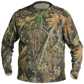 Mad Dog Buzz Off Field Wear Long Sleeve Crew T-Shirt - Mossy Oak Medium
