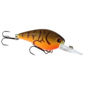 Strike King KVD Deep Diver Squarebill Crankbait Hard Lure 1.5 - Orange Belly Craw
