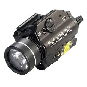 Streamlight TLR-2 HL Rail Mounted Tactical LED Light with Laser