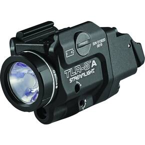 Streamlight TLR-8 A Flex Rail Mounted Light- Black