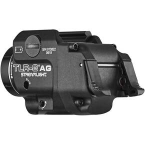 Streamlight TLR-8A G Gun Light with Green Laser and Rear Switch Options
