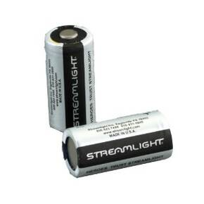 Streamlight Lithium Replacement Batteries 2/pk 3-Volt 123A