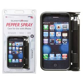 Sabre Red SmartGuard iPhone 4 Case - Black