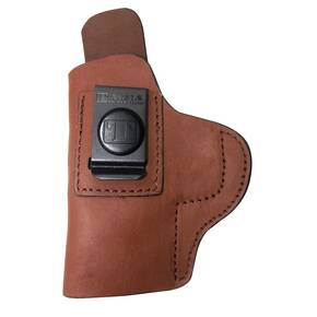 Tagua Gunleather Super Soft Inside The Pant Holster Fits S&W M&P Shield 9mm/40 Brown Right Hand