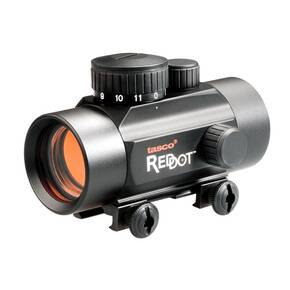 Tasco 30mm Sight with Weaver Mount - 1x30mm 5 MOA Red Dot - Matte