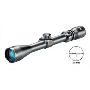 "Tasco World Class Rifle Scope - 3-9x40mm Mil-Dot 41-15' 3.5"" Matte"