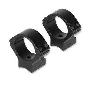 Talley Lightweight Alloy Scope Mounts - Black Anodized - 30mm - Low, Savage Model 25, Anshutz (for drilled and tapped receivers)