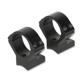 Talley Lightweight Alloy Scope Mounts - Black Anodized - 30mm - Medium