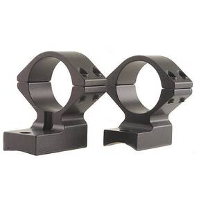 "Talley Lightweight Alloy Scope Mounts - Black Anodized - 1"" - Low, Remington Model 700-721-722-725-40X"