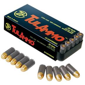 TulAmmo Handgun Ammunition .45 ACP 230 gr FMJ 850 fps 50/box