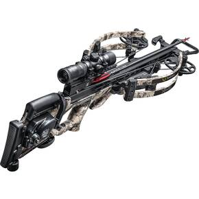 Ten Point XR-410 Reverse-Draw Crossbow Package ACUdraw PRO Rangemaster Pro Scope - TT Viper