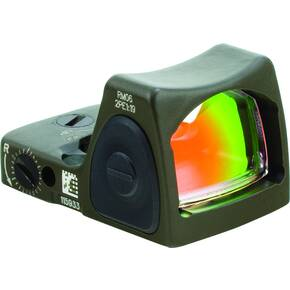Trijicon RMR Type 2 Red Dot Sight - 3.25 Adj Red RMR Type 2 - CK ODG