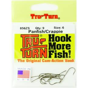 Tru Turn Aberdeen Plain Hook Size 6 - 9pk - Bronze