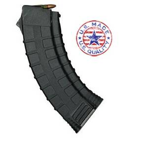Tapco AK-47 Magazine 7.62x39mm Double Stack Composite Black 30/rd