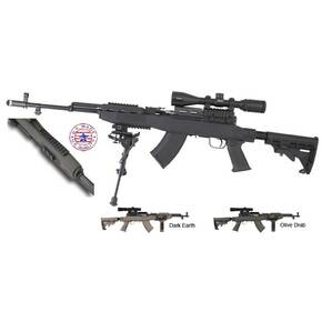 TAPCO Fusion SKS Rifle System with Rail