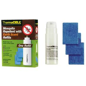 ThermaCell Mosquito Repellent Refill - 1 Pack Earth Scent